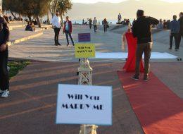 Bostanlı Evlenme Teklifi Organizasyonu