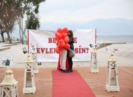 Bostanlı Evlilik Teklifi Organizasyonu