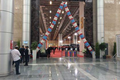 Bus World Fuarı Balon Süsleme İzmir Organizasyon