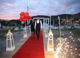 Çanakkale Kumsalda Evlilik Teklifi Organizasyonu