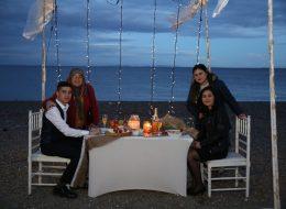 Gazebo Süsleme Çanakkale Evlilik Teklifi Organizasyonu