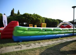 Canlı Langırt Oyun Parkuru Kiralama İzmir
