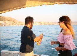 Evlenme Teklifi Organizasyonu ve Şampanya Patlatma Anı