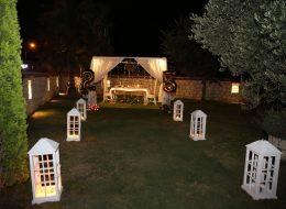 Çeşme'de Butik Otelde Evlilik Yıl dönümü Organizasyonu