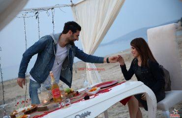 Çeşme'de Kumsal Evlenme Teklifi Organizasyonu İzmir Organizasyon