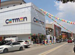 Zincir Balon ve Üçgen Bayrak Süsleme Kocaeli Açılış Organizasyonu