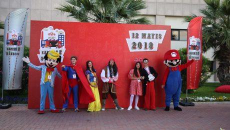 Çizgi Film Maskotları Kiralama İzmir Organizasyon