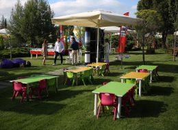 Renkli Çocuk Masa ve Sandalyesi Kiralama İzmir