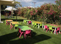 Aile Günü Organizasyonu Çocuk Masa Sandalyesi Kiralama İzmir