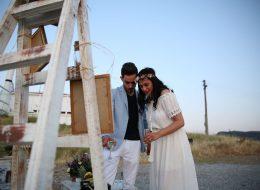 Foça Evlilik Teklifi Organizasyonunda Romantik Dakikalar