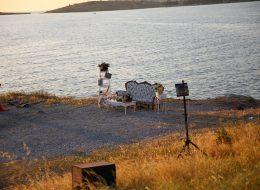 Foça'da Deniz Kenarında Evlenme Teklifi Organizasyonu