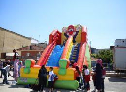 Dev Palyaço Kaydırakta Oyun Anları İzmir