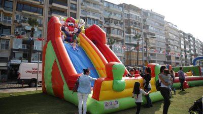Dev Palyaço Kaydırak Kiralama İzmir