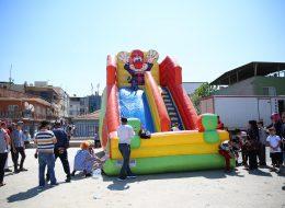 Şenlik Organizasyonu Dev Palyaço Kaydırak Kiralama İzmir