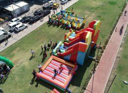 Gladyatör ve Palyaço Kaydırak Oyun Parkurları Kiralama İzmir