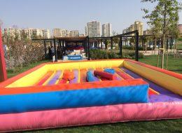 Diyarbakır Gençlik Festivali Organizasyonu Şişme Oyun Parkuru Kiralama