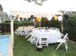 Doğum Günü Organizasyonu Balon Süslemesi İzmir Organizasyon