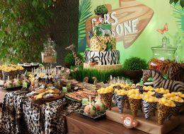 Safari Konseptli Doğum Günü Organizasyonu İzmir Organizasyon