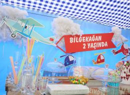 Doğum Günü Organizasyonu Sunum Detayları İzmir Organizasyon