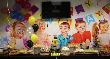 İzmir Doğum Günü Organizasyonu Uçan Balon Süsleme