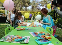 Kostümlü Karakterler Temini ve Çocuk Oturma Grubu Kiralama İzmir