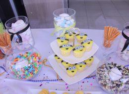 İzmir Çocuk Doğum Günü Organizasyonu Temalı Cupcake