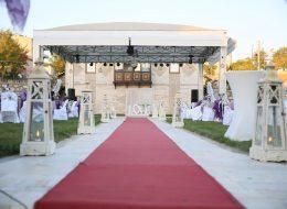 Yürüyüş Yolu Süsleme Düğün Organizasyonu İzmir