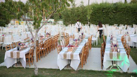 Masa Süsleme ve Ekipman Kiralama Düğün Organizasyonu