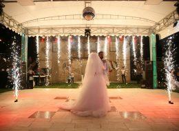 Pyro Teknik Hizmetler Yer Volkanları Gösterisi Düğün Organizasyonu İzmir