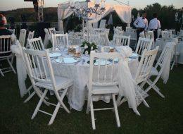 Masa ve Sandalye Kiralama Düğün Organizasyonu İzmir