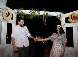 Dekoratif Ürünlerle Süsleme ve Evlilik Teklifi Organizasyonu