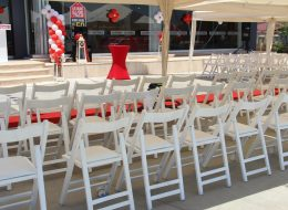 Sandalye Kiralama Fethiye Açılış Organizasyonu