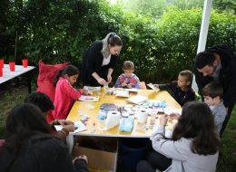 Çocuk Aktiviteleri ve Kum Boyama Etkinliği İzmir