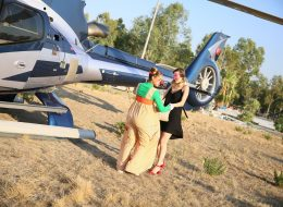 Helikopterde Evlilik Teklifi Organizasyonu ve Palyaço Servisi