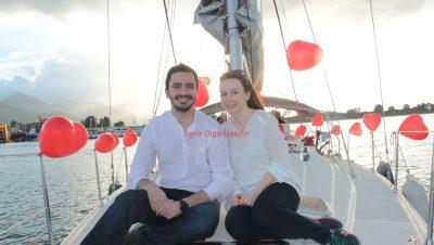 Surpriz Evlilik Teklifi Ucan Balon