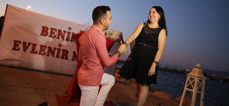 İnciraltı Evlilik Teklifi Organizasyonu İzmir Organizasyon