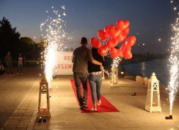 İnciraltı Evlilik Teklifi Organizasyonu