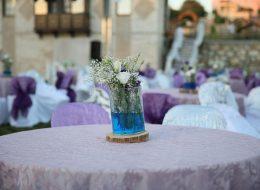 Masa Üstü Çiçek Süsleme Düğün Organizasyonu İzmir