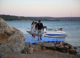 Issız Adada Evlilik Teklifi Organizasyonu Organizasyon Alanına Giriş
