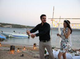Şampanya Patlatma ve Evlilik Teklifi Organizasyonunun Kutlandığı Anlar