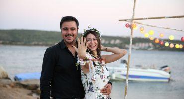 Çeşme'de Adada Evlilik Teklifi Organizasyonu
