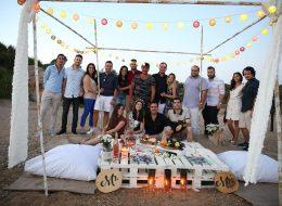 Dostlarla Birlikte Issız Adada Evlenme Teklifi Organizasyonu Çeşme