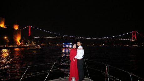 İstanbul Boğazı'nda Evlilik Teklifi Organizasyonu İzmir Organizasyon