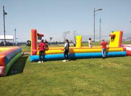 Çekme Basket Şişme Yetişkin Oyuncakları Kiralama İzmir