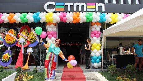 Çetmen Mağazası Açılış Organizasyonlarında Balon Süsleme Hizmeti