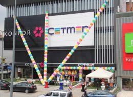 Çetmen Mağazası Balon Süslemeleri İzmir Organizasyon