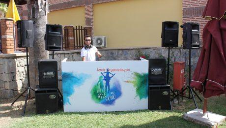 JTI Aile Günü Organizasyonu Ses Sistemi ve Profesyonel DJ Hizmeti İzmir Organizasyon