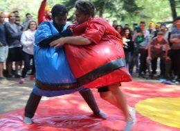 Sumo Güreşi Şişme Oyun Parkurları İzmir Organizasyon