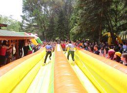 Bungee Run Şişme Oyun Parkurları İzmir Organizasyon
