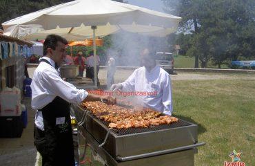 Piknik Organizasyonu BBQ&Mangal İkramları İzmir Organizasyon